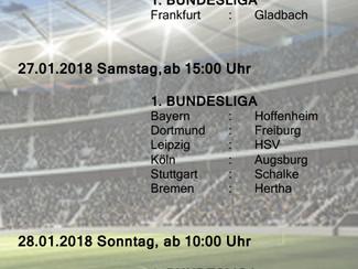 Bundesliga beim SVN - 20. Spieltag