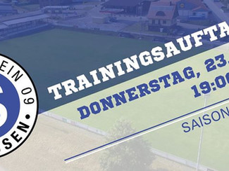 Trainingsauftakt - Saison 2020/2021