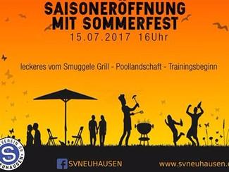 Saisoneröffnung mit Sommerfest