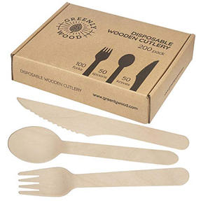 Disposable Wooden Utensils