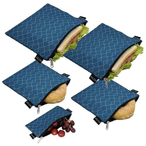 Reusable sandwich bags