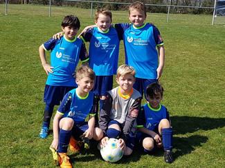 4 Siege zum Auftakt für F-Junioren