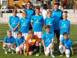 Guter zweiter Platz beim E-Junioren Turnier in Mühlhausen