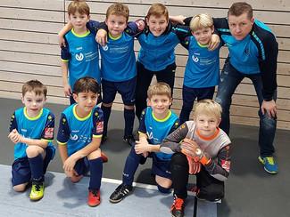 F-Junioren erfolgreich beim Verbandsspieltag