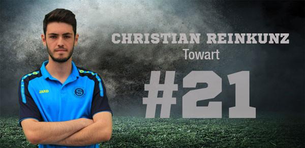 Torwart Christian Reinkunz