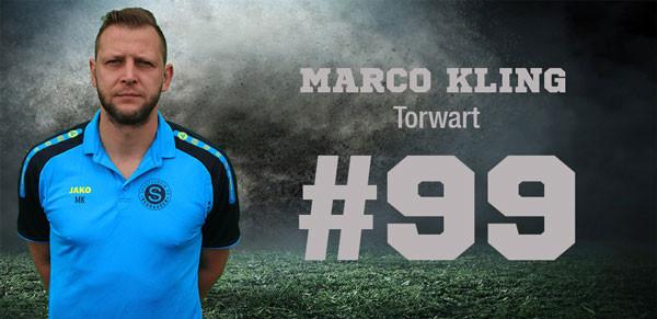 Torwart Marco Kling