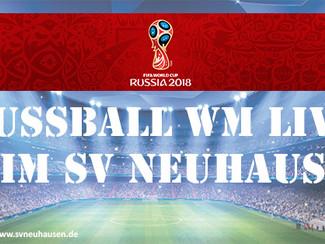 WM 2018 LIVE beim SV Neuhausen