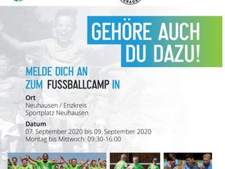 Jugend-Fussballcamp beim SVN
