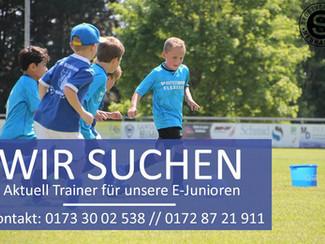 Spieler und Trainer für F –und E-Jugend gesucht