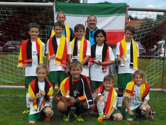 E-Jugend im Zeichen der Weltmeisterschaft