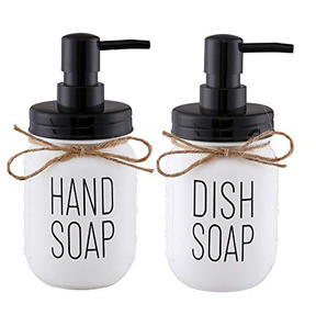 Reusable soap dispenser