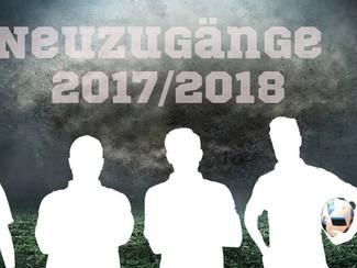 Neuzugänge für die kommende Saison