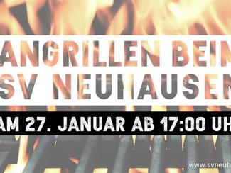 Angrillen beim SV Neuhausen