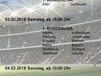 Bundesliga beim SVN - 21. Spieltag
