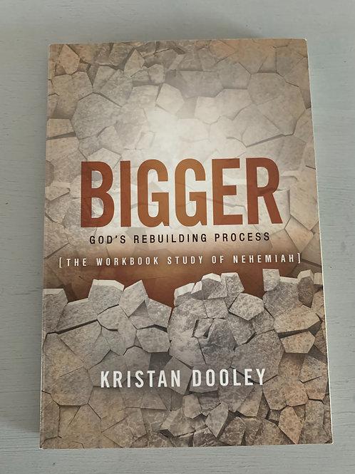 Bigger: The Workbook Study of Nehemiah