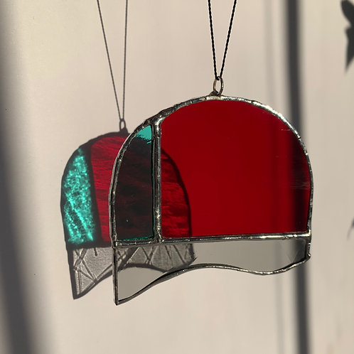 Small  Red Suncatcher