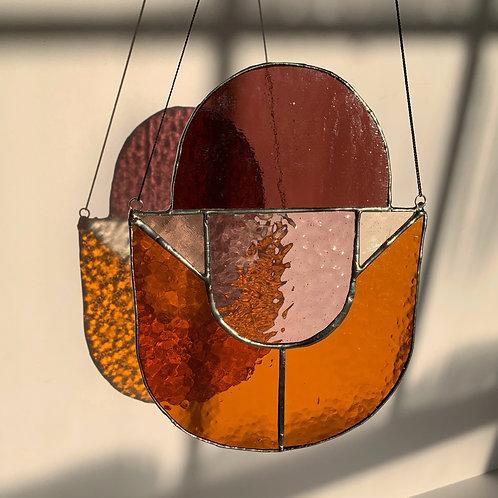 U Three Glass Panel