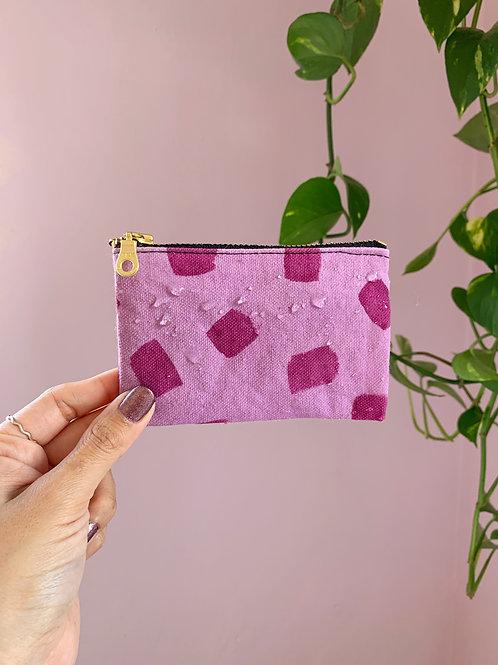 Magenta Zip Wallet