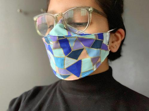 3D Face Mask -Multi Color Options