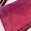 Thumbnail: Magenta Ombre Waxed Canvas Purse