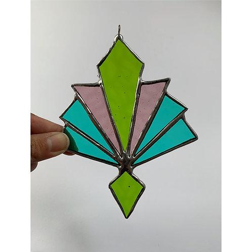 8 point multi-color suncatcher
