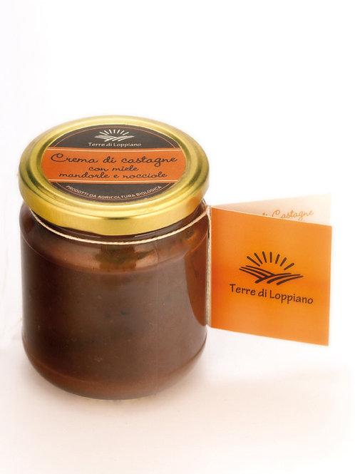 Crema di Castagne con miele, mandorle e nocciole 230gr.