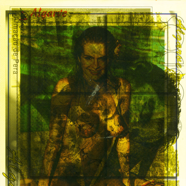 NA HALLO, 1988/2020  C-Print gerahmt 188,3 x 129 cm