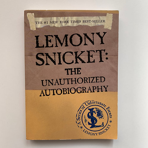 Lemony Snicket: The Unauthorized Biography