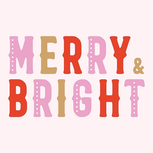 Merry + Bright Gift Card