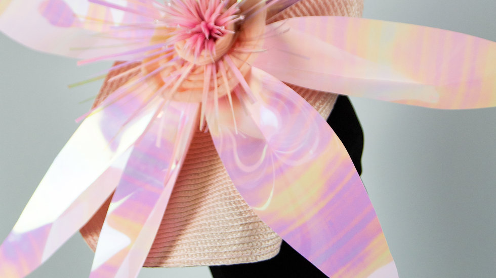 Oversized flower headpiece