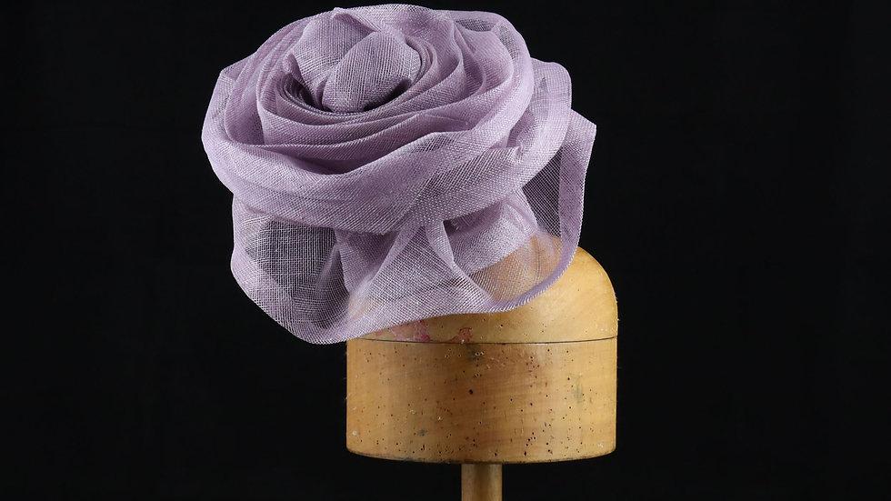 Oversizeds sinamay flower headpiece
