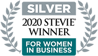 Silver Stevie Winner for Women in Business Logo