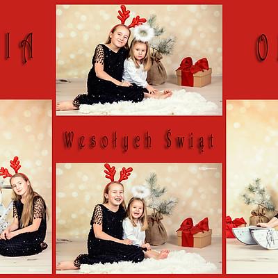 Siostrzyczki świątecznie