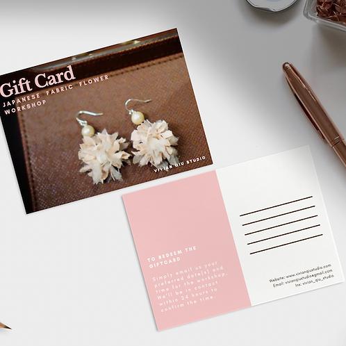 Gift Card (Japanese Fabric Flower Workshop)