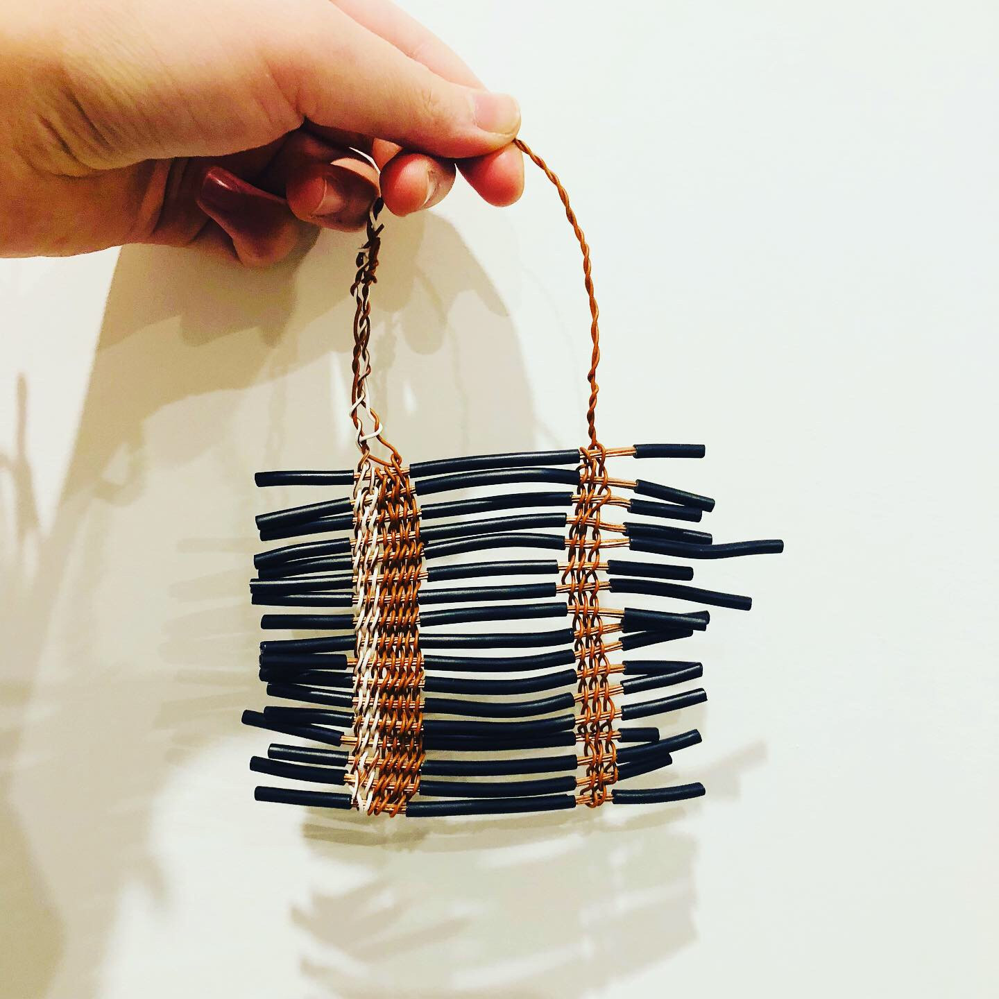 Electrical Wire / Contemporary Weaving
