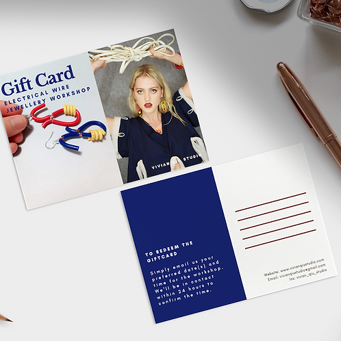 Gift Card (Electrical Wire Jewellery Workshop)