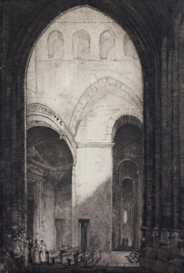 St. Trophime Arles, 1922
