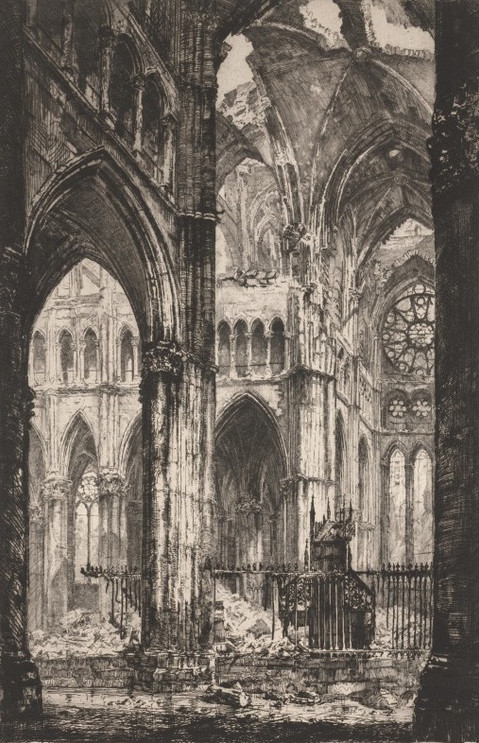 Reims Cathedral Interior South Transept
