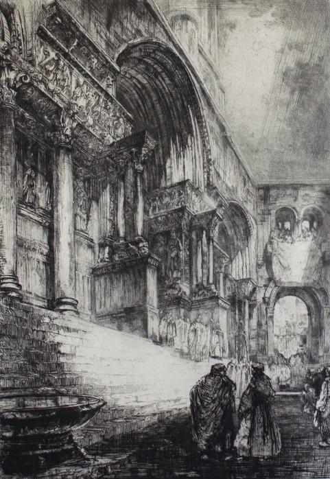 Abbey Church of St. Giles, 1917