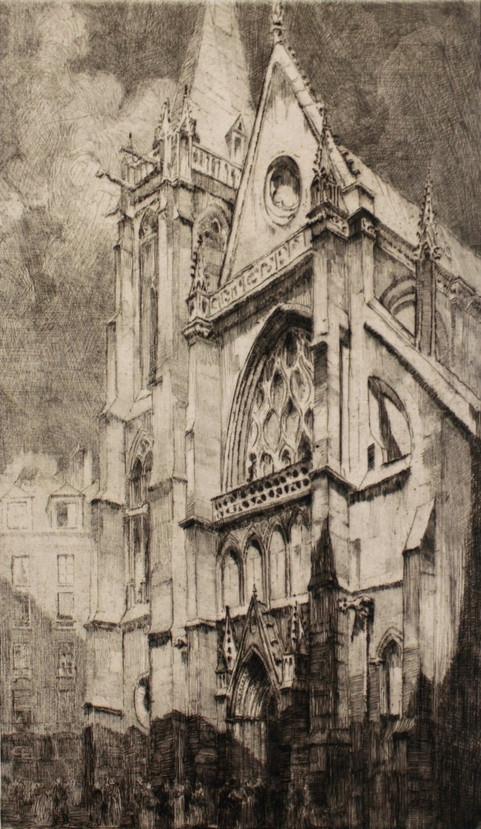 St. Severin Church, 1914