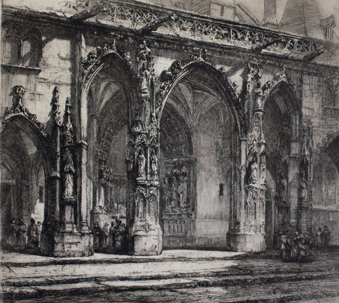 Saint Germain l'Auxerrois Church, 1912
