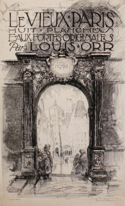 Le Vieux Paris, 1920