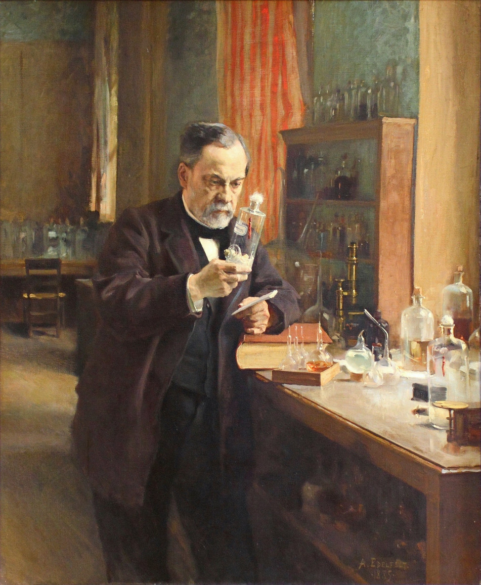 "Albert Edelfelt's ""Portrait of Louis Pasteur"""