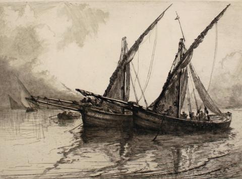 Fishing Boats, 1924