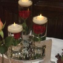 Tri Candle Vase