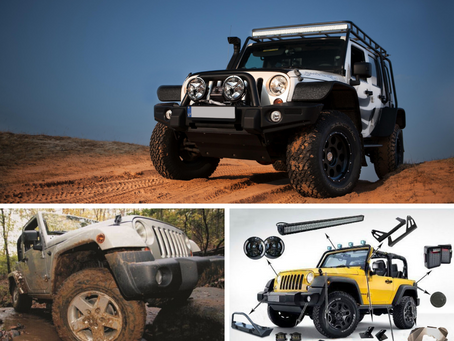 New! Accessories For Jeep JK