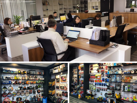 Tiroflx new office, Showroom & headquarters in Ningbo, China