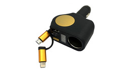 RETRACTABLE CAR CHARGER