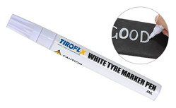 WHITE TIRE MARKER PEN