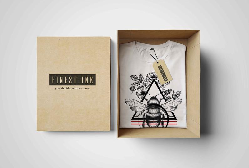 Branding & Kollektion Design // Finest.Ink